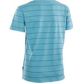 ION Stripes SS Tee Women, azul